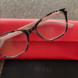 Guess GU2673 055 Havana Full Rim Rx Eyeglasses EUC